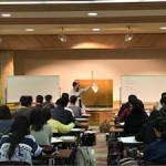 平成29年度新入生オリエンテーション合宿「履修指導のようす(1)」