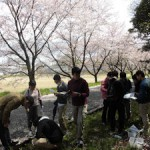 基礎演習での土壌調査2「ビオトープ」