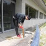 竹林間伐材肥料化の準備(2)