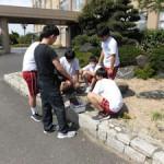 校内での土壌調査(2)
