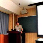 日本環境学会(2) 武本教授の研究発表