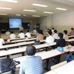 卒業研究中間発表会 (2) 会場の様子