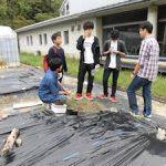 環境情報学概論IIでの土壌調査(2)