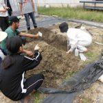 基礎演習bで土壌調査を実施(1)