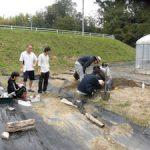基礎演習bで土壌調査を実施(2)