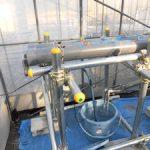 塩ビパイプ水耕栽培システム製作中(3)